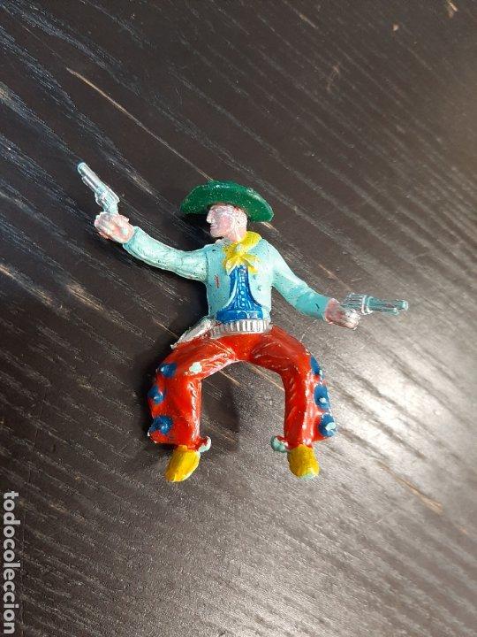 Figuras de Goma y PVC: LOTE DE 53 PISTOLEROS O COWBOY ,COMANSI,SOTORRES,PECH,JECSAN,LAFREDO-PINTADOS A MANO - Foto 4 - 213408567