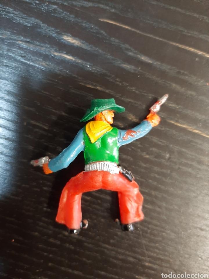 Figuras de Goma y PVC: LOTE DE 53 PISTOLEROS O COWBOY ,COMANSI,SOTORRES,PECH,JECSAN,LAFREDO-PINTADOS A MANO - Foto 6 - 213408567