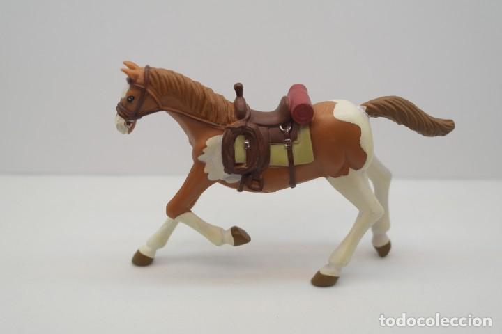 Figuras de Goma y PVC: Figura del Oeste Comansi. Caballo Cowboy . IV Epoca de Comansi. - Foto 2 - 213442850