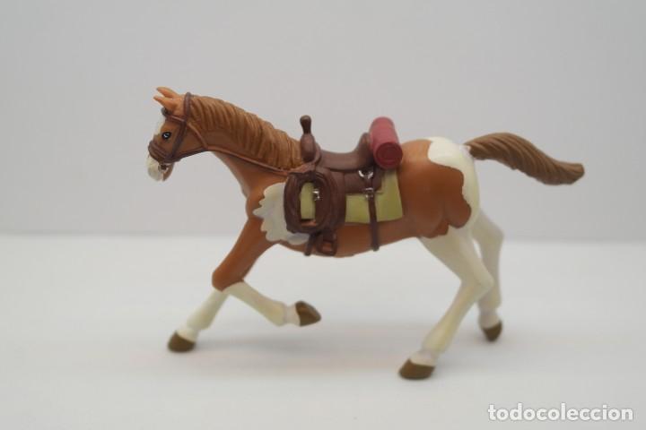 Figuras de Goma y PVC: Figura del Oeste Comansi. Caballo Cowboy . IV Epoca de Comansi. - Foto 3 - 213442850