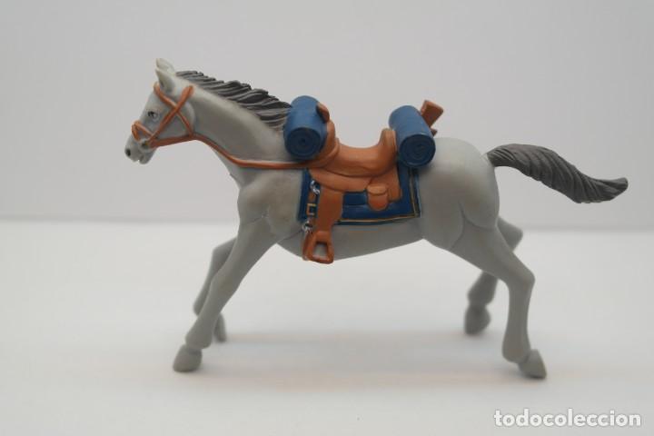 Figuras de Goma y PVC: Figura del Oeste Comansi. Caballo Cowboy . IV Epoca de Comansi. - Foto 2 - 213442857