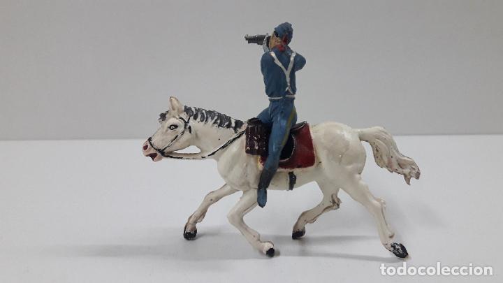 Figuras de Goma y PVC: SOLDADO FEDERAL A CABALLO . REALIZADO POR PECH . ORIGINAL AÑOS 50 EN GOMA - Foto 6 - 213453711