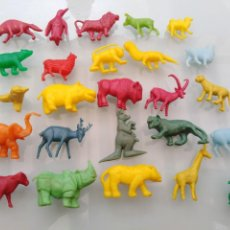 Figuras de Goma y PVC: LOTE ANIMALES DUNKIN ANTIGUOS. Lote 213506860