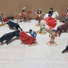 Figuras de Goma y PVC: FIGURAS DE LA CORRIDA DE TOROS. AÑOS 60. REAMSA.. Lote 213517430