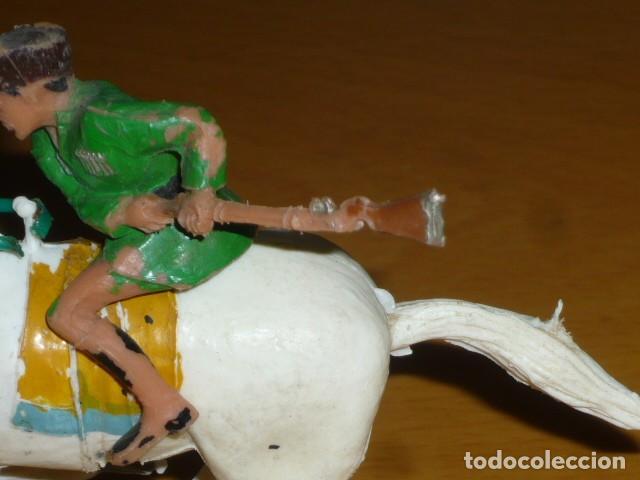 Figuras de Goma y PVC: ESTEREOPLAST COSACO VERDE A CABALLO - Foto 3 - 213523373