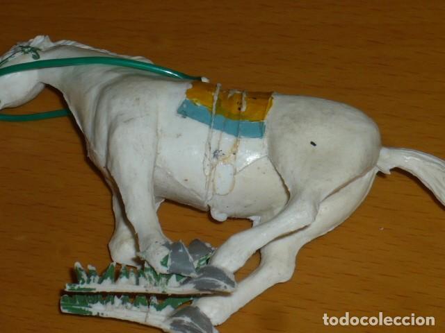 Figuras de Goma y PVC: ESTEREOPLAST COSACO VERDE A CABALLO - Foto 8 - 213523373