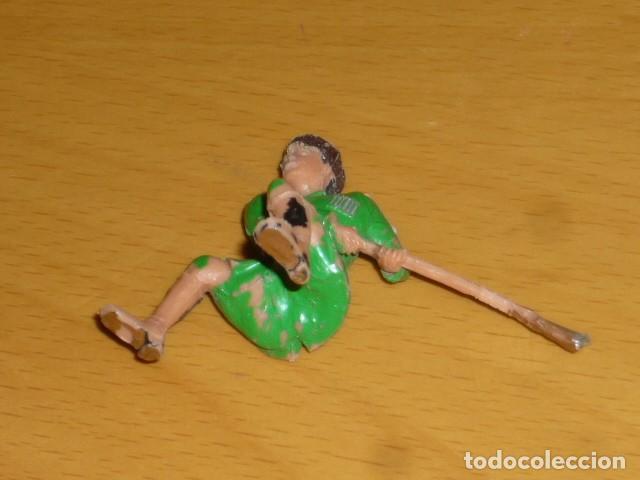 Figuras de Goma y PVC: ESTEREOPLAST COSACO VERDE A CABALLO - Foto 9 - 213523373