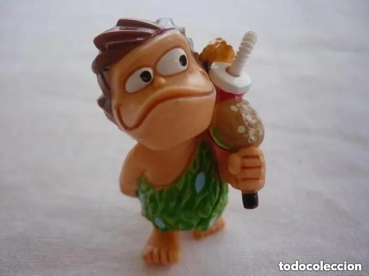 FIGURA KINDER FERRERO - TROGLODITA (Juguetes - Figuras de Gomas y Pvc - Kinder)