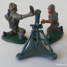 Figuras de Goma y PVC: SERVIDORES EN GOMA DE PECH CON MORTERO. Lote 213576322