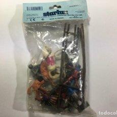 Figuras de Goma y PVC: BOLSA DE FIGURAS MEDIEVALES DE STARLUX. Lote 213578513