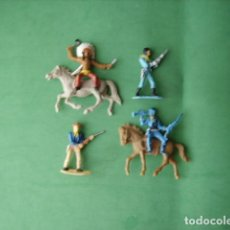 Figuras de Borracha e PVC: FIGURAS Y SOLDADITOS DE 5 CTMS -12117. Lote 213595336
