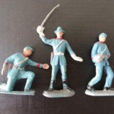 Figuras de Goma y PVC: ARTILLEROS PECH SERIE YANQUIS EN PLÁSTICO. Lote 213609711