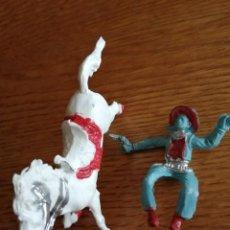 Figuras de Goma y PVC: VAQUERO DE REIGON. NO COMANSI, JECSAN, SOTORRES, LAFREDO ETC.. Lote 213623251