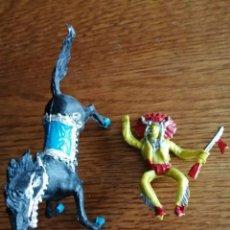 Figuras de Goma y PVC: INDIO DE REIGON. NO COMANSI, JECSAN, SOTORRES, LAFREDO ETC.. Lote 213623341