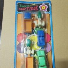 Figuras de Goma y PVC: BLISTER DE JUGUETES BULLICAN , COCHES Y TRACTORES. Lote 213742453