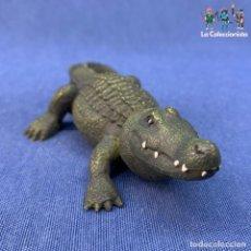 Figuras de Goma y PVC: ANIMAL - FIGURA DE PVC - COCODRILO - SOL90 - 14CM. Lote 213742502