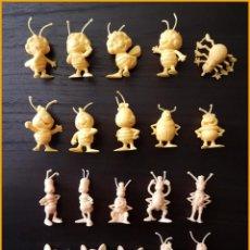 Figuras de Goma y PVC: ABEJA MAYA LOTE DE 20 FIGURAS DUNKIN COLECCION COMPLETA. Lote 213862195