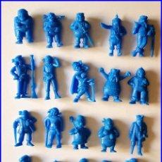 Figuras de Goma y PVC: DUNKIN PIRATAS LOTE 20 FIGURAS ORIGINALES TITO COLECCION COMPLETA. Lote 213862300