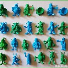 Figuras de Goma y PVC: DUNKIN ASTERIX Y OBELIX UDERZO 80 FIGURAS ELEGIR * PRECIO UNITARIO. Lote 213864432