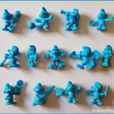 Figuras de Goma y PVC: DUNKIN PITUFOS OMO FRANCIA FIGURAS ELEGIR * PRECIO UNITARIO. Lote 213864876