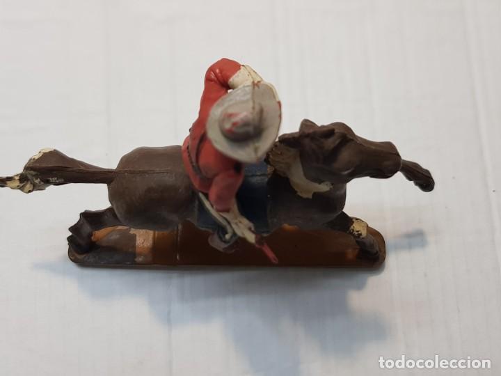 Figuras de Goma y PVC: Figura Goma Policía Montada del Canada de Gama - Foto 4 - 213883048