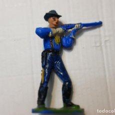 Figuras de Goma y PVC: FIGURA DESCABEZADO JECSAN SOLDADO CON RIFLE ESCASA. Lote 245116455