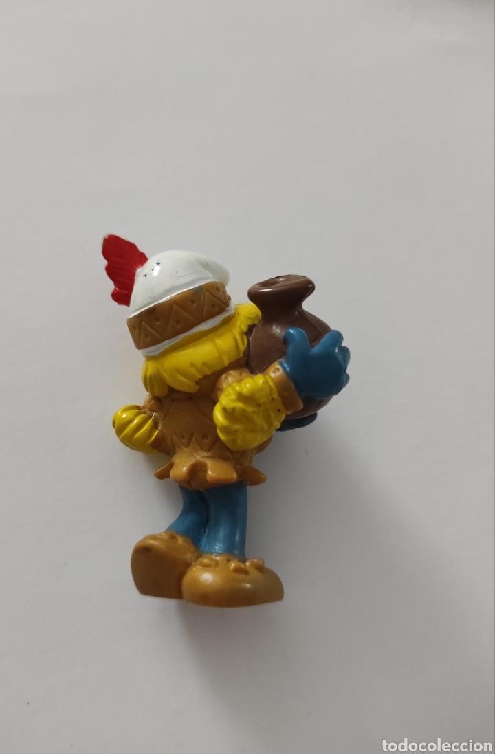Figuras de Goma y PVC: Figura Pitufina Peyo 1982 - Foto 2 - 213884686