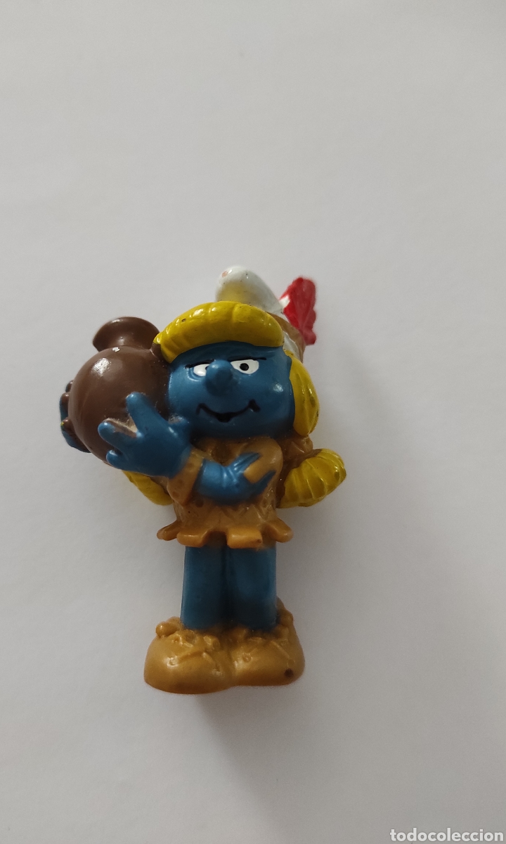FIGURA PITUFINA PEYO 1982 (Juguetes - Figuras de Goma y Pvc - Schleich)