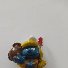 Figuras de Goma y PVC: FIGURA PITUFINA PEYO 1982. Lote 213884686