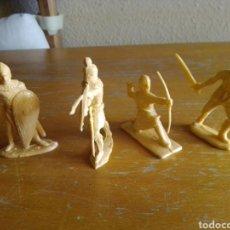 Figuras de Borracha e PVC: LOTE 4 SERIE CID REAMSA CRISTIANOS. Lote 213926116