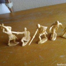 Figuras de Borracha e PVC: LOTE 5 SERIE CID REAMSA CRISTIANOS. Lote 213926146