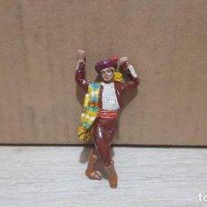 Figuras de Goma y PVC: FIGURA JEREZANO EN GOMA N° 218/8 DE PAREJAS REGIONALES DE ESPAÑA, AÑOS 50. COLECCIONES JECSAN. Lote 213985600