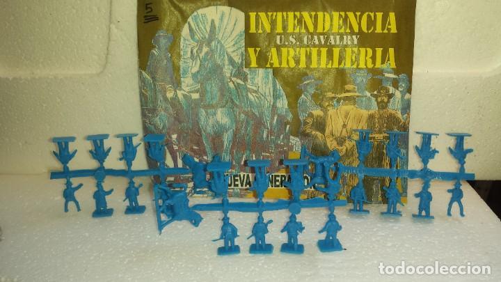 COLADAS DE SOLDADOS CON SOBRE DE MONTAPLEX (Juguetes - Figuras de Goma y Pvc - Montaplex)
