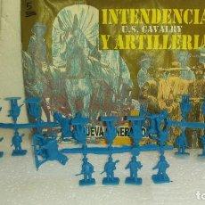Figuras de Goma y PVC: COLADAS DE SOLDADOS CON SOBRE DE MONTAPLEX. Lote 214042191