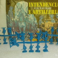 Figuras de Borracha e PVC: COLADAS DE SOLDADOS CON SOBRE DE MONTAPLEX. Lote 214042191
