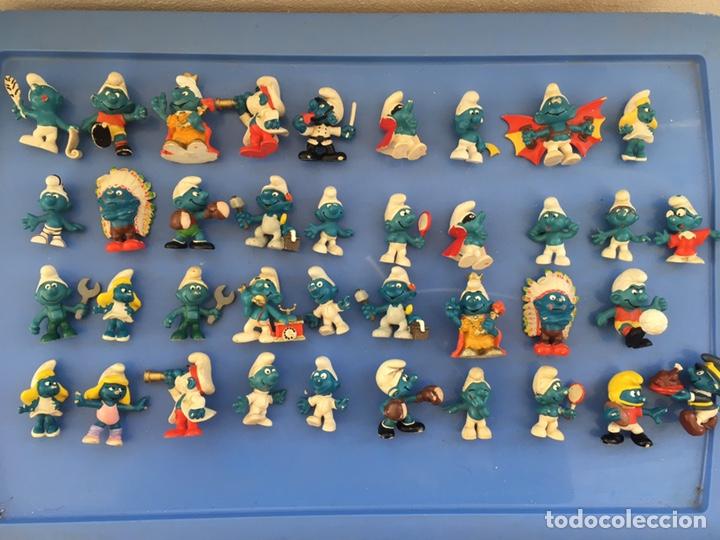 LOTE ANTIGUOS PITUFOS PVC GOMA (Juguetes - Figuras de Goma y Pvc - Schleich)