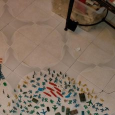 Figuras de Goma y PVC: MONTAPLEX: SOLDADOS SERIES Y TAMAÑOS, TANQUES, CAMIONES, JEEP, AVIONES, BARCOS...740 PIEZAS. Lote 214070336