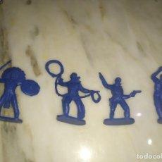 Figuras de Goma y PVC: FIGURAS COMANSI PRIMERA EPOCA PVC OESTE INDIOS VAQUEROS. Lote 214095998