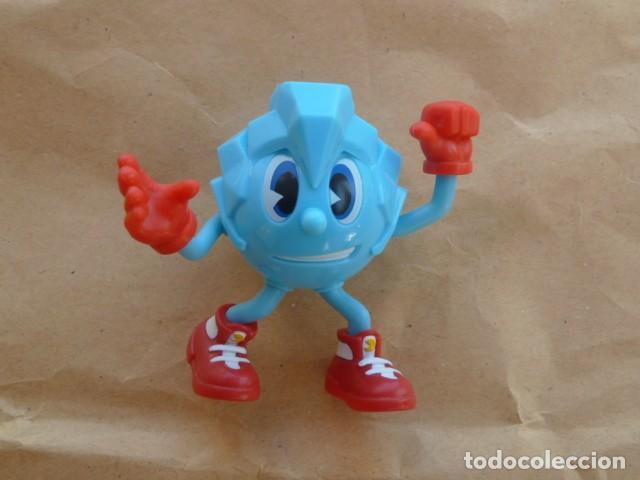 Figuras de Goma y PVC: Figura Ice. Pacman Hielo. Bandai - Foto 2 - 214147676