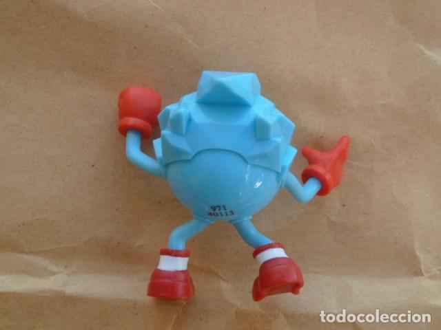 Figuras de Goma y PVC: Figura Ice. Pacman Hielo. Bandai - Foto 3 - 214147676