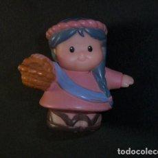 Figuras de Goma y PVC: CAMPESINA LITTLE PEOPLE. FISHERPRICE 2002. Lote 214148203