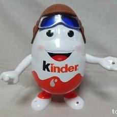 Figuras Kinder: FIGURA MUÑECO KINDERINO AVIADOR 25 CM. Lote 214199932