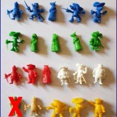 Figuras de Goma y PVC: DUNKIN DARTACAN Y LOS TRES MOSQUERROS FIGURAS ELEGIR * PRECIO UNITARIO. Lote 214204540