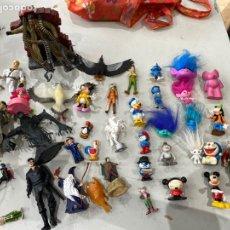 Figuras de Goma y PVC: LOTE DE MUÑECOS ANTIGUOS- VER FOTOS. Lote 214218998