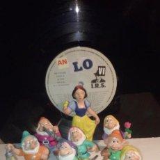 Figuras de Goma y PVC: BLANCANIEVES Y LOS 7 ENANITOS .. Lote 214272368