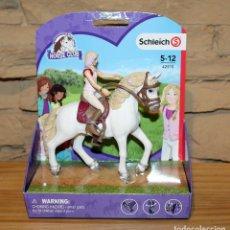 Figuras de Goma y PVC: HORSE CLUB - SCHLEICH - SOFIA Y BLOSSON - 42515 - NUEVO Y EN SU BLISTER. Lote 214278578