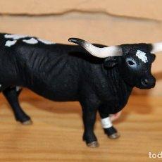 Figuras de Goma y PVC: SCHLEICH - FIGURA DE VACA TEJANA LONGHORN - 13865 - NUEVO A ESTRENAR Y CON ETIQUETA - 14X9CM. Lote 214358372