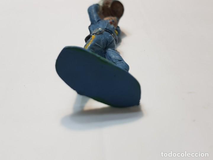 Figuras de Goma y PVC: Figura Yankee con Barril de Comansi - Foto 4 - 214370672