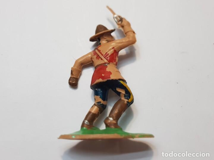 Figuras de Goma y PVC: Figura Policía Montada del Canada de Comansi escasa - Foto 2 - 214371106