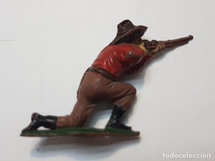 Figuras de Goma y PVC: Figura Cowboy Goma de Teixido - Foto 2 - 214372273
